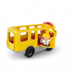 Fisher Price Little People Autobus Malego Odkrywcy