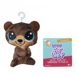 Hasbro Pluszowa przypinka Littlest Pet Shop Hoffman Beary