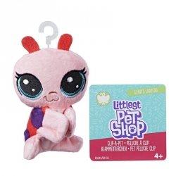 Hasbro Pluszowa przypinka Littlest Pet Shop Gladys Ladyloo