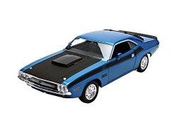 Welly 1970 Dodge Challenger niebieski