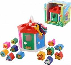 Sorter kształtów Domek dydaktyczny (pudełko)