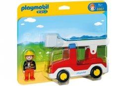 Wóz strażacki z drabina 6967