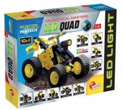 Lisciani Zestaw konstrukcyjny Hi-Tech - Quad LED