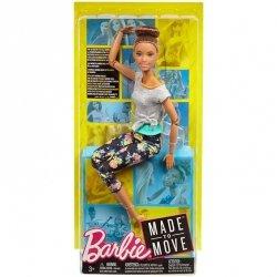 Lalka Barbie Made to Move - brunetka