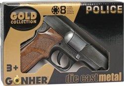 Pulio Metalowy pistolet policyjny