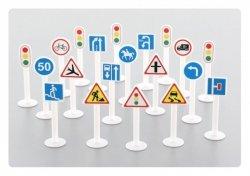 WADER-POLESIE Zestaw znaków drogowych 20 elementów