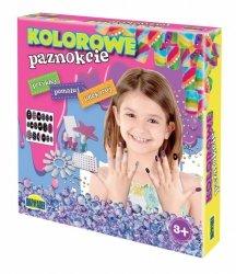 Dromader Zestaw do manicure Kolorowe paznokcie