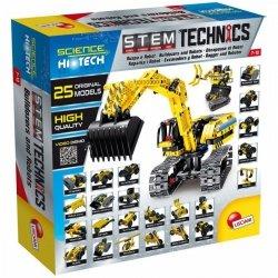 Lisciani Zestaw konstrukcyjny HI-TECH Robot-Koparka