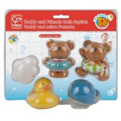Hape Zabawki do kąpieli Miś i Przyjaciele