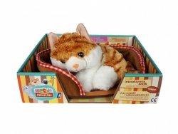 Madej Maskotka Kot z głosem rudy 24 cm