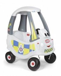 Jeździk Cozy Coupe Policja biała