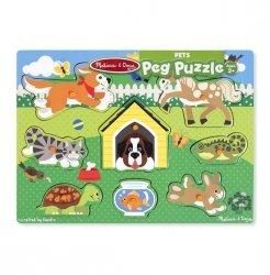 Melissa & Doug Puzzle drewniane Pupile