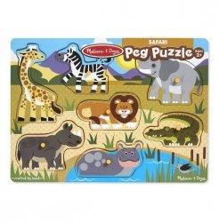 Melissa & Doug Puzzle drewniane Safari