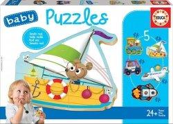 Educa Puzzle Baby Pojazdy 2