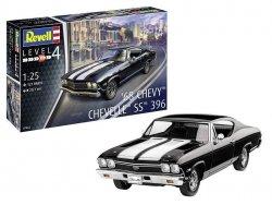 Revell Model plastikowy Chevy Chevelle 1968