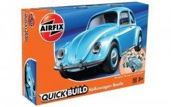 Airfix Model plastikowy QUICKBUILD VW Beetle Blue