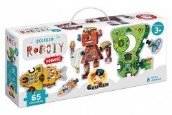 CzuCzu Puzzle 65 elementów - Układam roboty