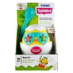 Tomy Zabawka interaktywna Beat it - grające jajko