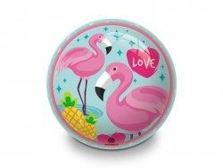 Piłka gumowa 23 cm Flamingo