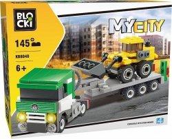 Blocki Klocki MyCity 145 elementów Laweta