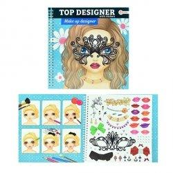 Symag Kolorowanka make-up z naklejkami Toi-Toys 46131 Top Designer