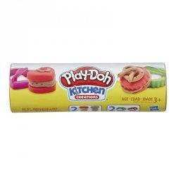 Hasbro Masa plastyczna Play-Doh Puszka Ciasteczek, czekoladowe