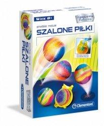 Clementoni Zestaw naukowy Szalone piłki