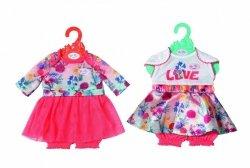 Zapf Ubranko Baby Born Trend Baby Dresses asortyment