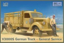 Ibg Model plastikowy Niemiecka ciężarówka General service V3000 S