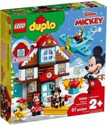 LEGO Polska Klocki DUPLO Domek wakacyjny Mikiego