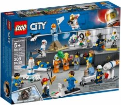 LEGO Polska Klocki City Badania kosmiczne - Zestaw minifigurek