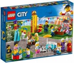 LEGO Polska Klocki City Wesołe miasteczko - zestaw minifigurek