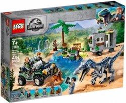 LEGO Polska Klocki Jurassic World Starcie z barionyksem: poszukiwanie skarbów