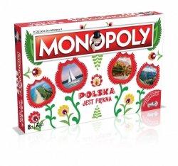 Winning Moves Gra Monopoly Polska jest piękna