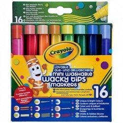Goliath Flamastry zmywalne szalone kształty Crayola 16 szt.