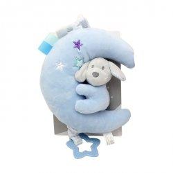 Axiom Pozytywka Księżyc New Baby Piesek niebieski 20 cm
