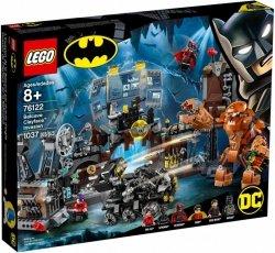 LEGO Polska Klocki Super Heroes Atak Clayfacea na Jaskinię Batmana