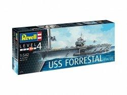 Revell Model plastikowy Lotniskowiec USS Forrestal