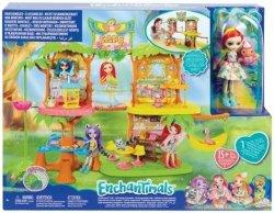 Mattel Lalka Enchantimals Tropikalna Kawiarenka
