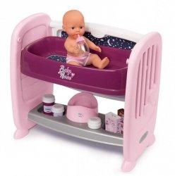 Smoby Lalka + łóżeczko 2w1 Baby Nurse