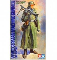 Tamiya Figurka Niemiecki strzelec maszynowy (płaszcz)