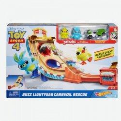 Hot Wheels Tor samochodowy Toy Story 4 Zestaw filmowy GCP24