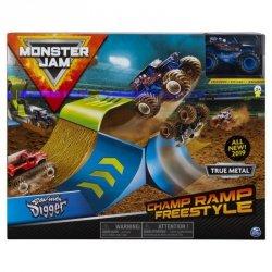 Tor samochodowy Monster Jam: 1:64 Wyczynowe Zestawy - Freestyle