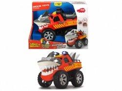 Dickie Pojazd Racing Drżący rekin, 30 cm