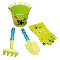 BINO Zestaw narzędzi ogrodowych 4 sztuki