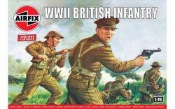 Airfix Model plastikowy Brytyjska piechota II Wojna Światowa