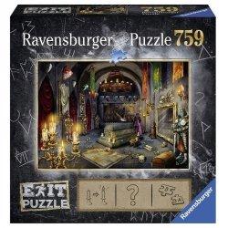 Ravensburger Puzzle 759 elementów - Exit, Zamek rycerski