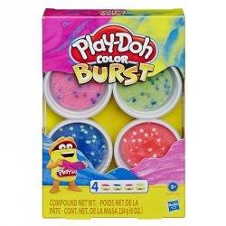 Hasbro Masa plastyczna PlayDoh Color Burst Bright Pack