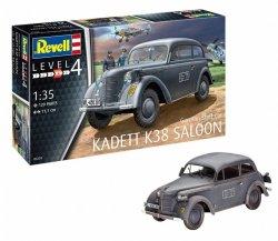 Revell Model plastikowy niemiecki samochód sztabowy Kadett K38 Saloon