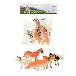 Symag Zestaw 5 figurek  TOITOYS Animal World